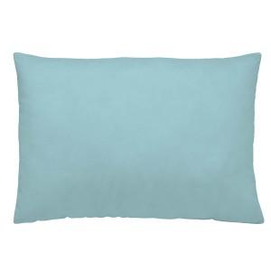 Sea blue linen pillowcase