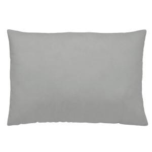 Gray linen pillowcase